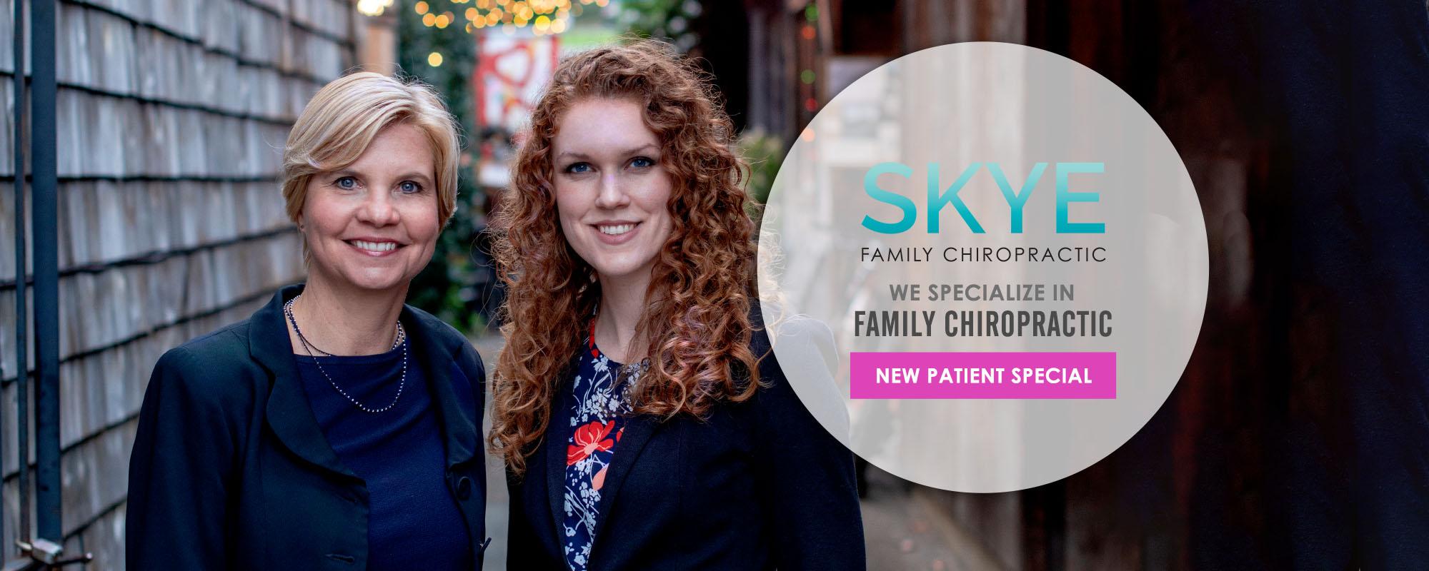 Chiropractors San Anselmo CA Heidi Skye and Erin Heck